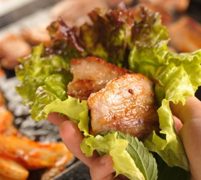 豚バラキムチ焼き